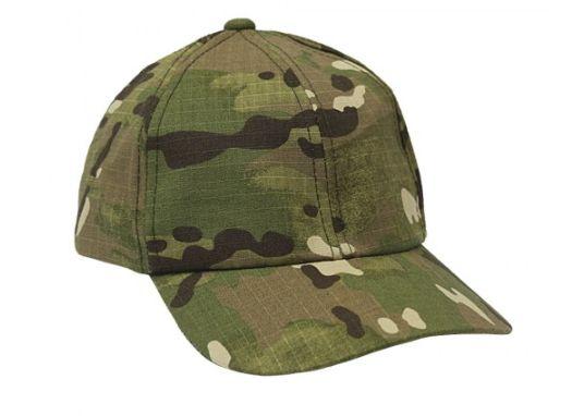 Boné Militar Rip Stop Liso  Camuflada Multicam - Atack