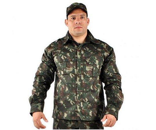 Camisa Adventure Camuflada Exército Brasileiro