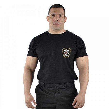 Camiseta Militar Bordada Forças Especiais