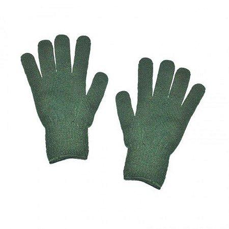 Luva De Lã Verde