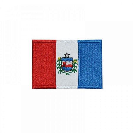 Patch Bordado Com Fecho De Contato Bandeira Alagoas