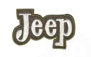 Patch Bordado Com Fecho De Contato Jeep