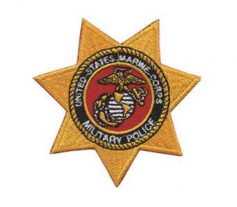 Patch Bordado Com Fecho De Contato M C Military Police