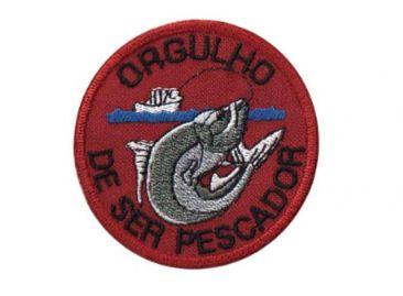 Patch Bordado Com Fecho De Contato Orgulho Pescador