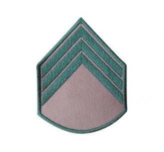 Divisa Bordada 3° Sargento Bege