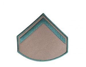 Divisa Bordada Soldado Bege