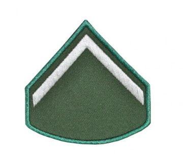 Divisa Bordada Soldado Verde