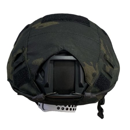 Capa De Capacete Tático Airsoft Paintball Multicam Black