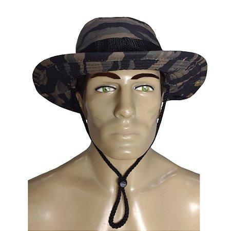Chapéu Boonie Hat Army Bélica Tiger Jungle