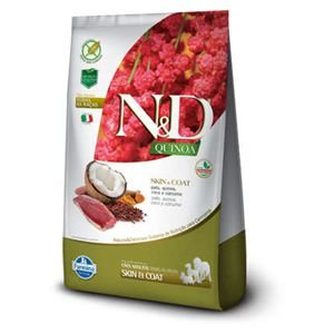 ND QUINOA CAO SKIN&COAT PATO 2,5kg