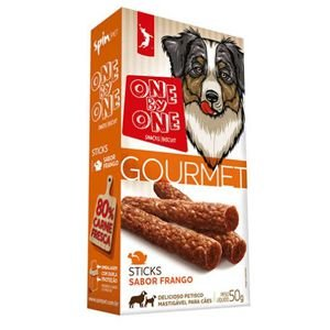 ONE BY ONE GOURMET STICK FRANGO 50gr