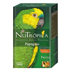 NUTROPICA PAPAGAIO COM FRUTAS 300GR