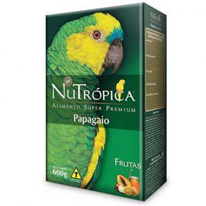 NUTROPICA PAPAGAIO COM FRUTAS 600gr