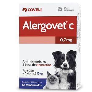 ALERGOVET C - 0,7 MG
