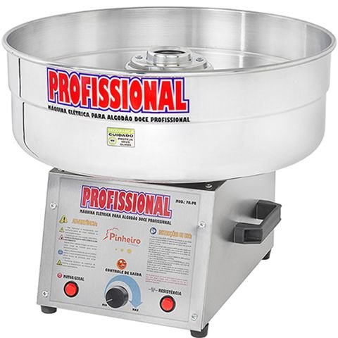 Máquina de Algodão Doce Pinheiro PA-PR Semi-Profissional - Bivolt