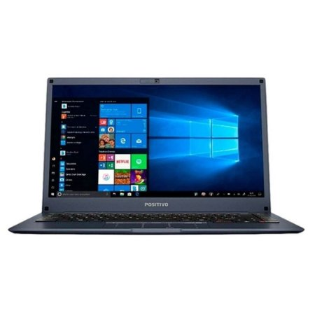 "Notebook Positivo Motion 1TB 4GB RAM Tela 14"" HD Linux"