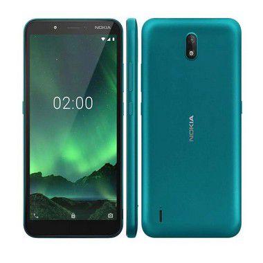 Smartphone Nokia C2 Verde + Carregador Power Bank 10.000 mAh