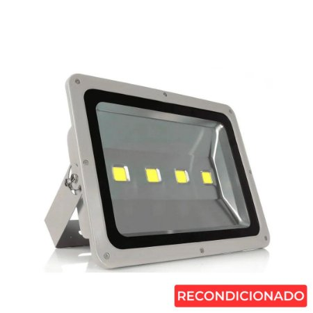 Refletor Led 200w Corpo Cinza - Branco Frio