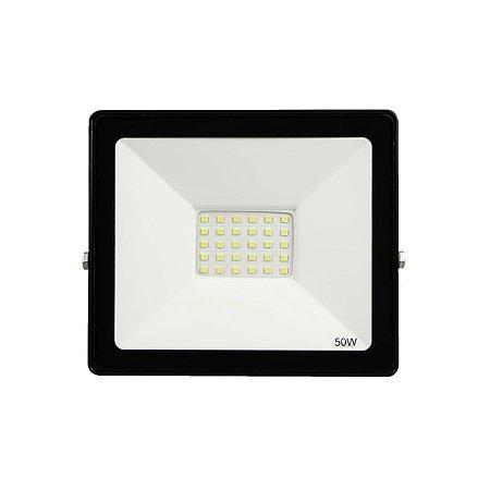 Refletor Led  50w SMD Eco - Branco Frio
