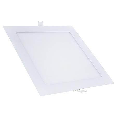 Kit 10 Painel Plafon Led 18w Quadrado Embutir - Branco Frio
