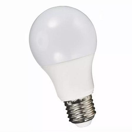 Kit 10 Lâmpada LED 12w Bulbo Plástico Econômico Branco Frio