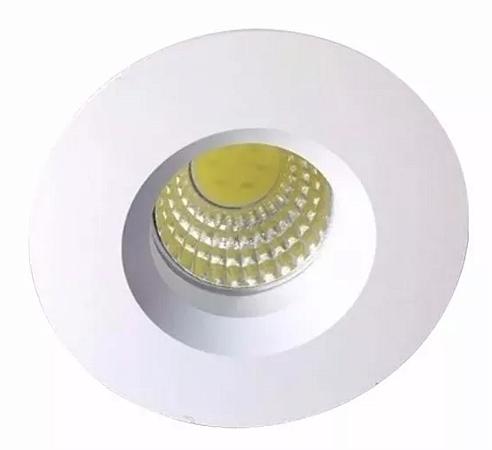 Mini Spot LED 3w Redondo COB - Branco Frio