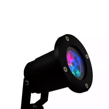 Projetor Led Holográfico Natalino Espeto de Jardim