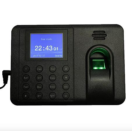 Relógio de Ponto Eletrônico Biométrico