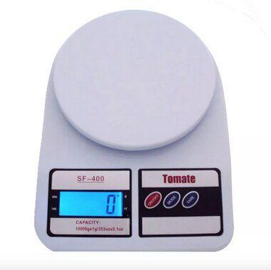 Balança Digital de Cozinha Branca SF-400