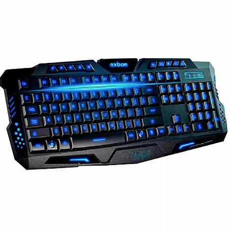 Teclado Gamer Multimídia Luminoso Usb Abnt2 Computador PC - G35