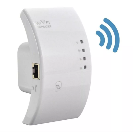 Repetidor Wifi Expansor Roteador de Internet Wireless