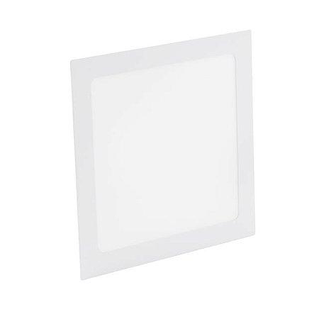 Kit 2 Painel Plafon LED 36w Quadrado Embutir - Branco Frio