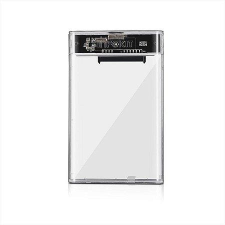 Case Sata HD Transparente 3.0 ECASE-320