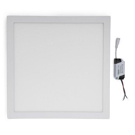 Painel Plafon LED 36w Quadrado Sobrepor - Branco Frio