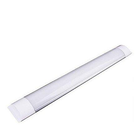 Kit 10 Luminária Led 10w 30cm - Branco Frio