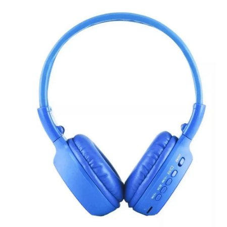 Fone Headphone Bluetooth N65 - Visor Luminoso