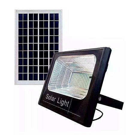 Kit Refletor LED  400W Solar Branco Frio + Panel Solar 400w