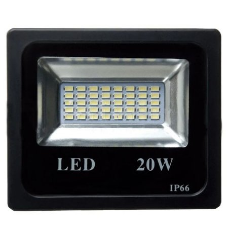 Refletor LED  20w Eco – Branco Frio