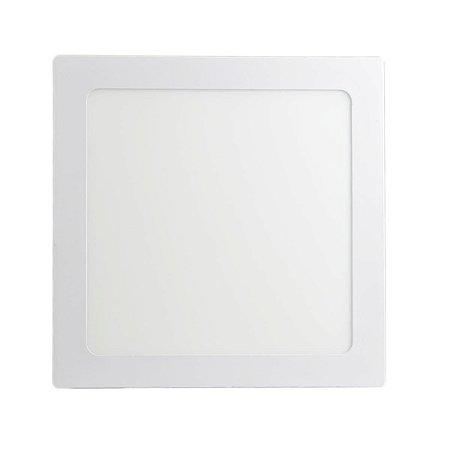 Mini Painel Plafon LED 25w Quadrado Embutir - Branco Frio