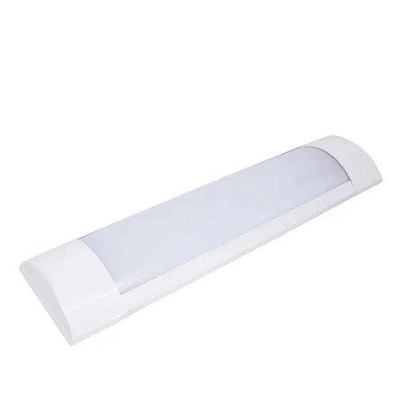 Luminária LED 10w Sobrepor 30cm - Branco Quente