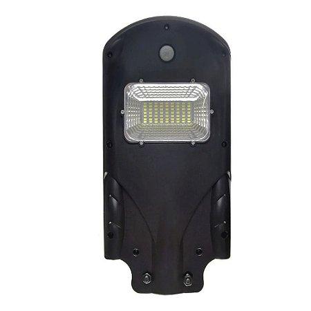 Refletor De Poste LED 20w Solar - Branco Frio