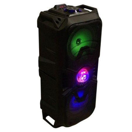 Caixa Som Amplificada BX-668 Bluetooth 120w – Torre C/ Globo