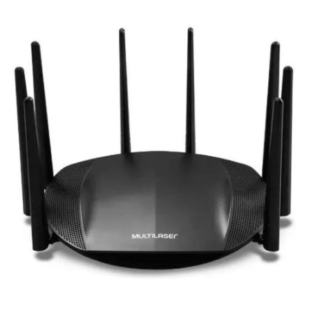 Roteador Multilaser Sirius Gigabit Ac2600 8 Antenas - RE016
