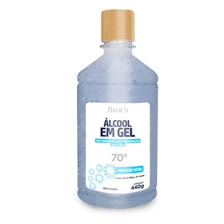 Álcool Gel 70% Antisséptico Bactericida Higienizador De Mãos 500ml