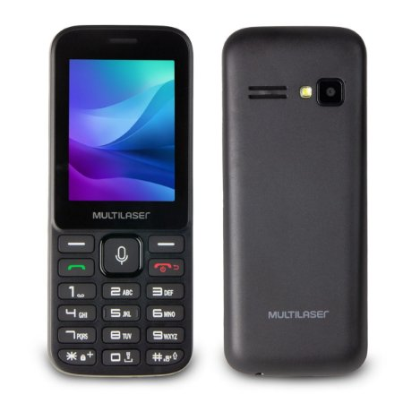 Celular Multilaser Zapp 3G Dual Chip Idoso Whatsapp - P9098