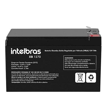 Bateria Selada Intelbras Vrla 12v 7a Nobreak Alarmes Cercas