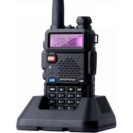 Rádio Comunicador Baofeng Uv-5r Walk Talk Dual Band Vhf Uhf