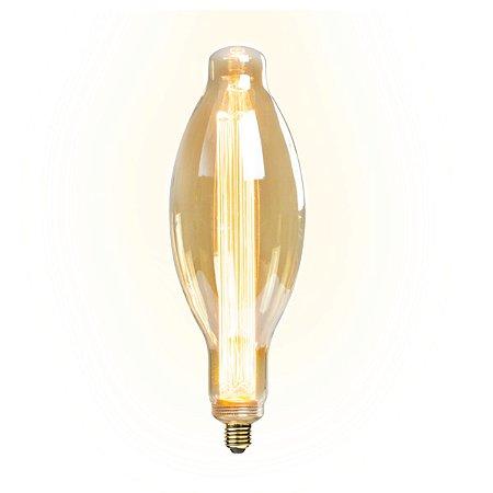 Lâmpada Led 4w De Filamento Retrô E115 - Âmbar