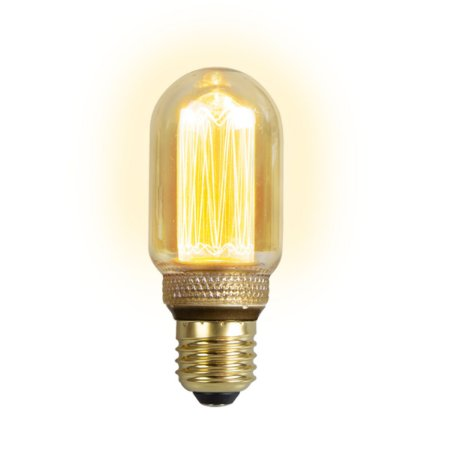 Lâmpada Led 4w De Filamento Retrô T45 - Âmbar