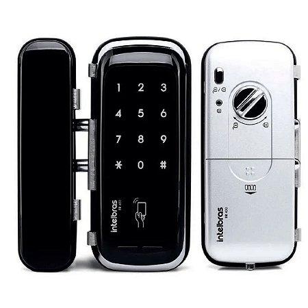 Fechadura Eletrônica Digital Intelbras Fr400 Porta De Vidro